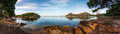 Formentor Beach Located Among Pine Forests And Stones, Mallorca, Stock Photography - 84728622