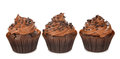 Chocolate Cupcakes Royalty Free Stock Photography - 84728727