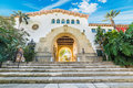 Stairs In Santa Barbara Courthouse Royalty Free Stock Photo - 84815365