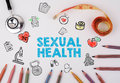 Sexual Health Concept. Healty Lifestyle Background Stock Photos - 84840523