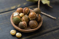 Macadamia Nuts In Shell Stock Images - 84890844