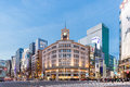 Cityscape In The Ginza District Stock Photography - 84907552