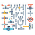Pipes Vector Icons . Stock Images - 84953124