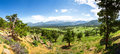 Rocky Mountain National Park Panoramic View Royalty Free Stock Photo - 84966615