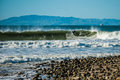 Winter Swell In Ventura Royalty Free Stock Photo - 84999225