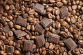 Coffee Grains Chocolate Royalty Free Stock Photo - 851835