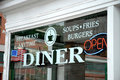 Diner Window Stock Images - 858884