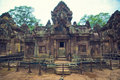 Inside View Of  Banteay Srey.Cambodia Royalty Free Stock Image - 8502176