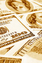 Close-up Money Dollars Background Royalty Free Stock Photography - 8504467