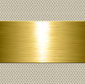 Metallic Plate Background Gold Royalty Free Stock Photo - 85002935