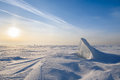 Blocks Of Ice Gleaming In The Sun, Snow, Frost Stock Images - 85018314
