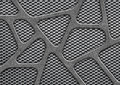 Metal Mesh, Perforated Iron Pattern For Background Stock Image - 85039861