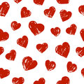 Seamless Pattern With Hearts Royalty Free Stock Photo - 85063845