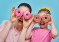Mother And Her Daughter Are Having Fun Royalty Free Stock Photography - 85091687