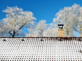 Snow On The Roof Stock Images - 85098614