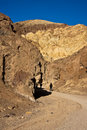 Golden Canyon In Death Valley Royalty Free Stock Image - 8516326