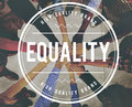 Equality Uniformity Fairness Rights Justice Concept Royalty Free Stock Image - 85114596