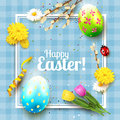 Cute Easter Greeting Card Stock Images - 85116254