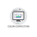 Color Correction Camera Film Production Industry Icon Royalty Free Stock Image - 85152696