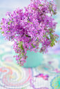 Lilacs Flowers Royalty Free Stock Photography - 85160977