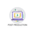 Camera Film Post Production Industry Icon Stock Image - 85183981