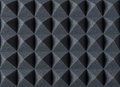 Acoustic Absorbing Foam For Studio Recording. Pyramid Shape. Royalty Free Stock Images - 85196909