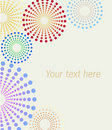 Dotted Flowers Background Stock Images - 8524364
