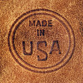 Made In USA Stock Photography - 8527512