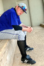 Absorbed In Pure Baseball Stock Image - 8529961