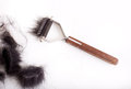 Dog Grooming Tool With Animal Fur Royalty Free Stock Photography - 85203807