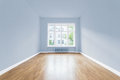 New Home, Empty Room ,  Painted  Walls Royalty Free Stock Photography - 85229487