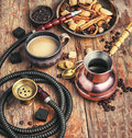 Coffee And Hookah Stock Photos - 85274173