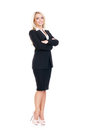 Young, Confident, Successful And Beautiful Business Woman Isolat Royalty Free Stock Photography - 85278137