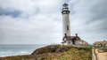 PESCADERO, CALIFORNIA, UNITED STATES - September 02, 2014: Lighthouse At Pigeon Point, Coastal Highway 1 San Francisco To Los Ange Stock Photography - 85283772