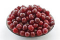 Ripe Cherries On A Glass Dish Royalty Free Stock Photos - 85291358