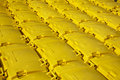 Yellow Recycling Bins Stock Photography - 8536552