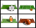 Game Fields Royalty Free Stock Photography - 8538537