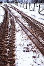 Snow And Mud Stock Images - 85324274