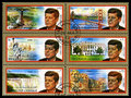 Vintage John F Kennedy Postage Stamps From Sharjah Royalty Free Stock Image - 85360576