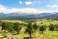 Rocky Mountain National Park Panoramic View Royalty Free Stock Image - 85362676