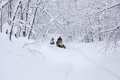 Winter Snowy Lanscape With Road Stock Images - 85367794