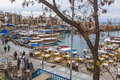 Kyrenia Girne Old Harbour, Northern Cyprus Stock Photos - 85383153