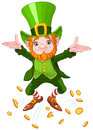 Happy Leprechaun Stock Images - 85391174