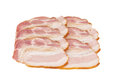 Slices Of Smoked Bacon Stock Photography - 85391822