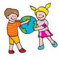 Kids World Royalty Free Stock Images - 8546979