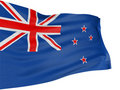 3D New Zealand Flag Stock Image - 8547481