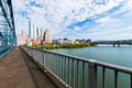 Liberty Bridge Above The Monongahela River In Pittsburgh, Pennsy Royalty Free Stock Photography - 85409377