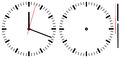 Simple Clock Royalty Free Stock Images - 85411969