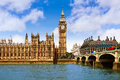 Big Ben London Clock Tower In UK Thames Royalty Free Stock Photography - 85419497