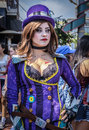 Comic-Con Participant, San Diego, California Royalty Free Stock Images - 85428119